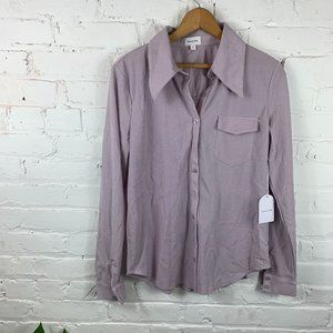 Song of Style Button Up Shirt Long Sleeves Size S